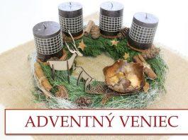 8f26b84c4b20 Návod na adventný veniec s dreveným jeleňom a srnkou – DIY